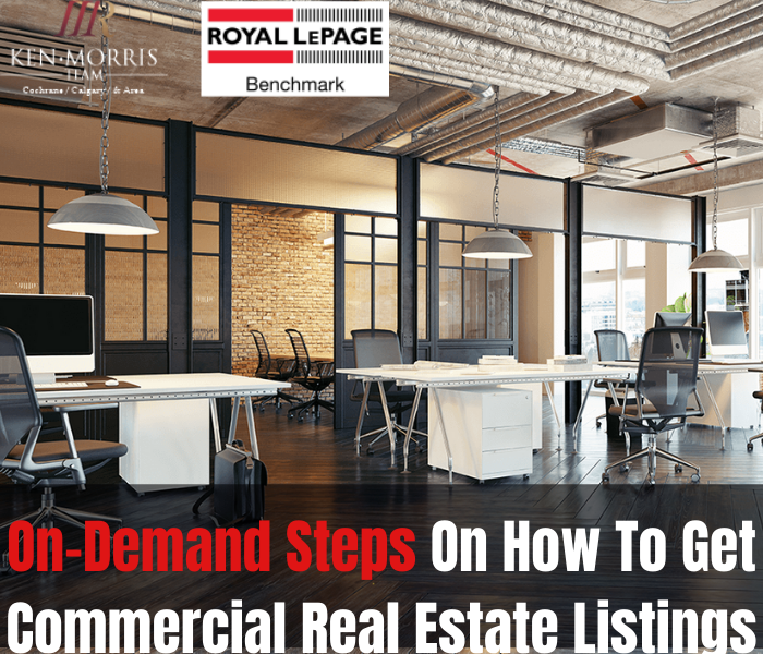 On-Demand Steps On How To Get Commercial Real Estate Listings