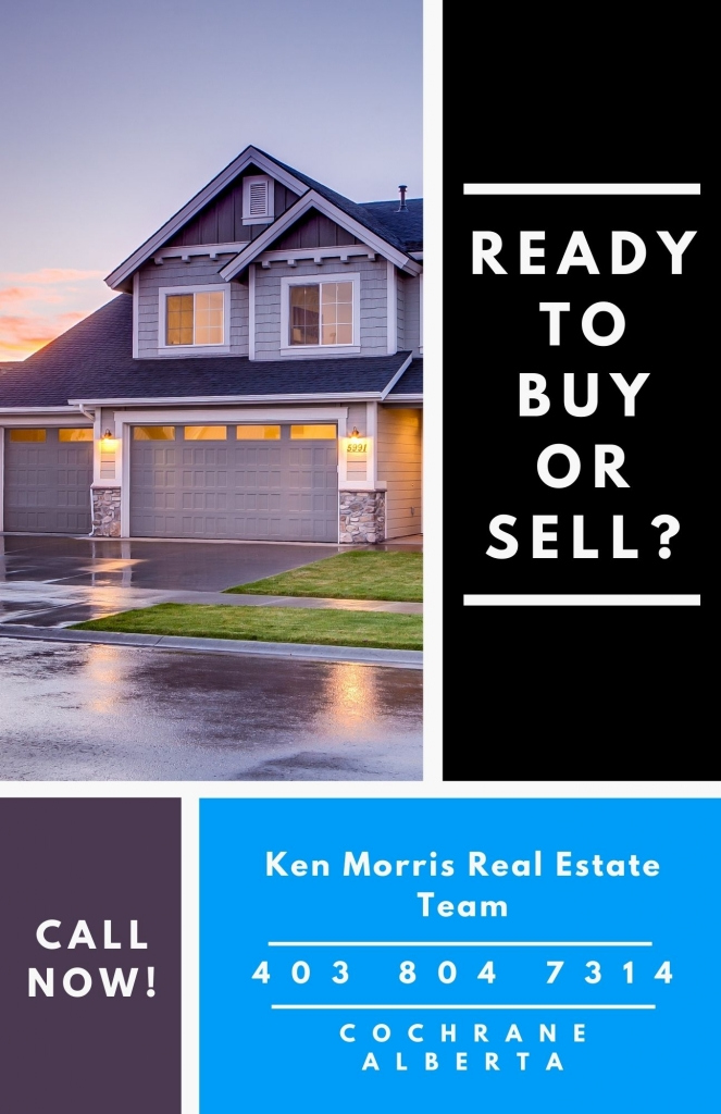 Ready to buy a or sell a house in glenbow cochrane alberta